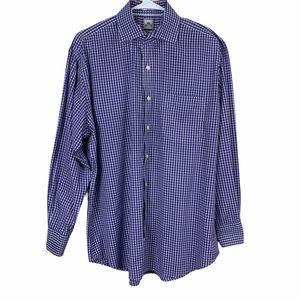 Peter Millar Button Front Shirt Nanoluxe Size 16.5